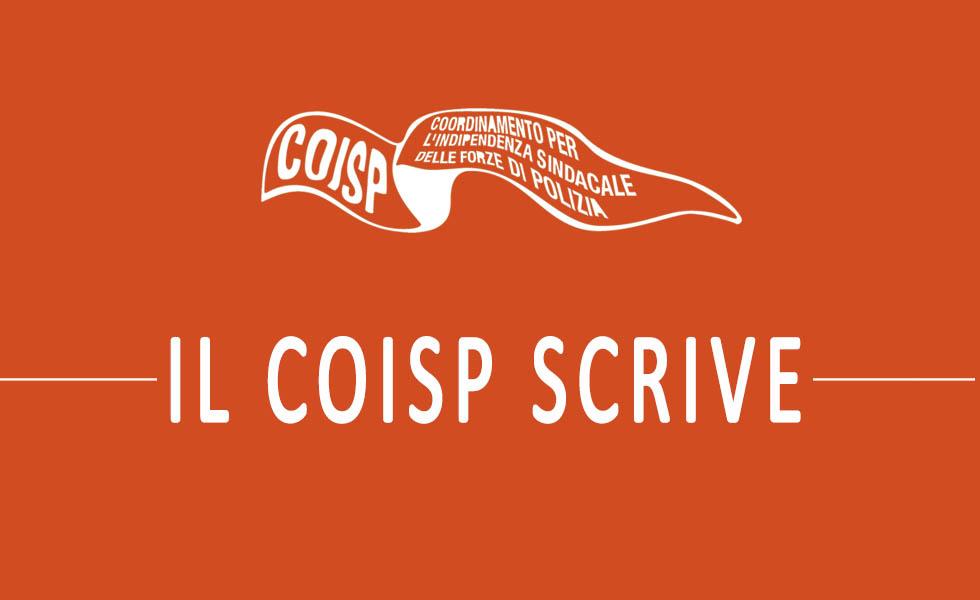 Sindacato COISP - Il COISP scrive