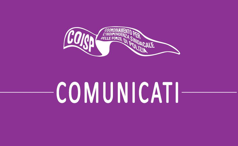 Sindacato COISP - Archivio comunicati