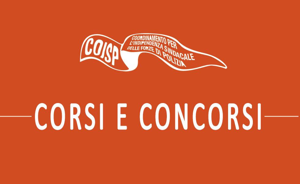 Sindacato COISP - Archivio corsi e concorsi