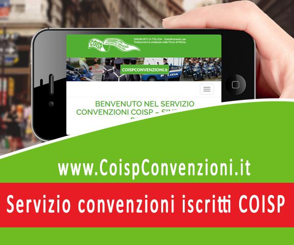 Servizio convenzioni COISP