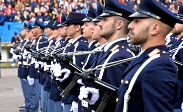 Allievi agenti della Polizia di Stato