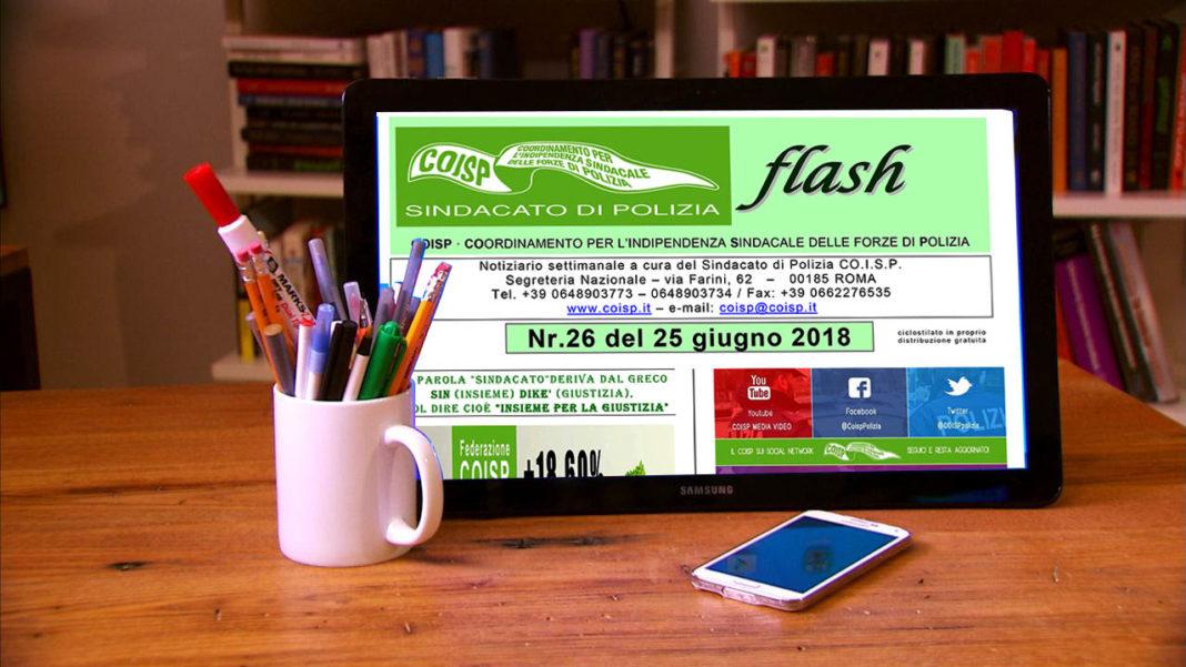 Coisp Flash N.26 del 2018