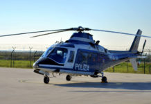 Elicottero della Polizia di Stato