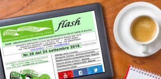 CoispFlash n.39 del 24 settembre 2018