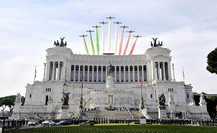 Altare della Patria - Frecce Tricolori