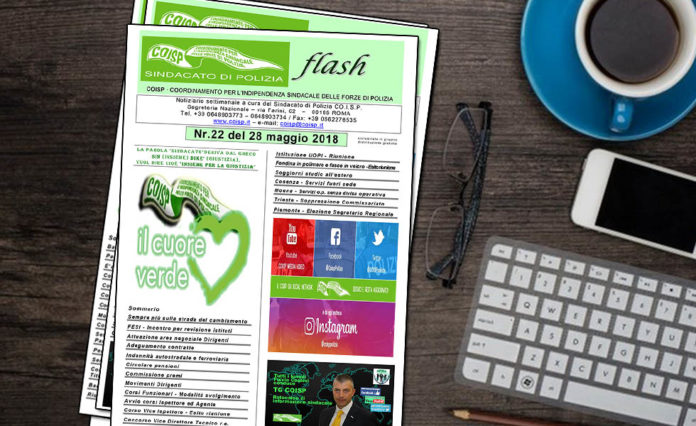 Coisp Flash N.22 - 2018