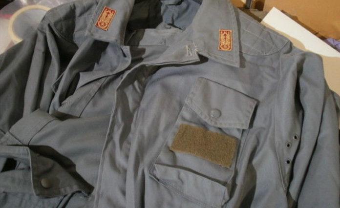 Vecchia Divisa Ordine Pubblico Reparto Celere Polizia-57