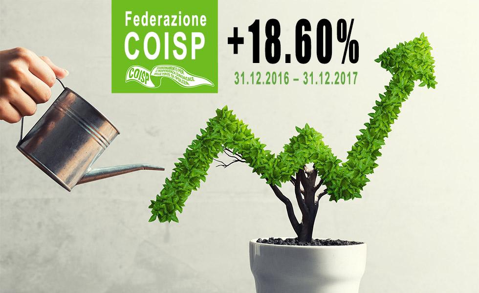 Il COISP in costante crescita