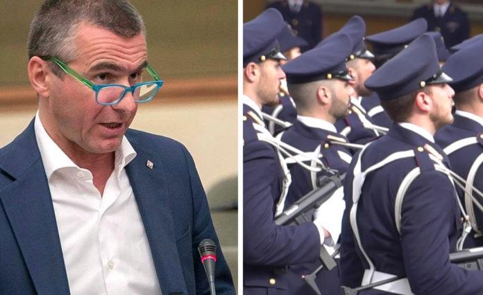 Il Senatore Massimo Vittorio Berutti