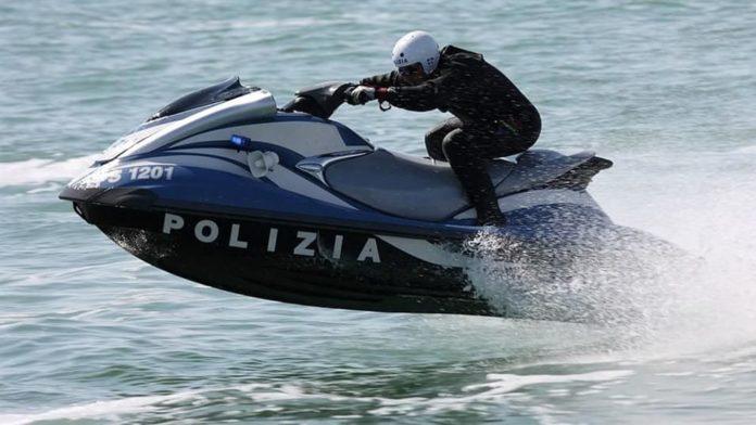 Moto d'acqua Polizia di Stato